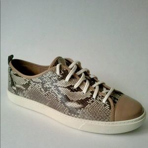 Cole Haan | Hendrix Lace Snake Print Sneaker Flats